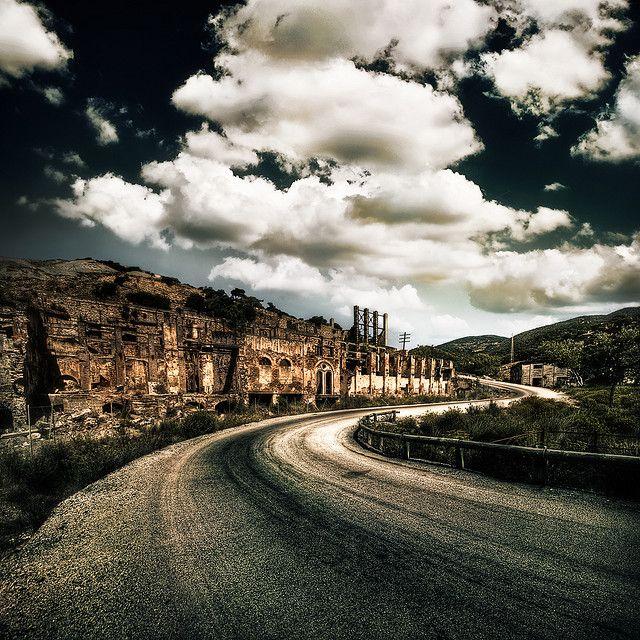 Laveria Brassey at Naracauli, Ingurtosu - Abandoned mine