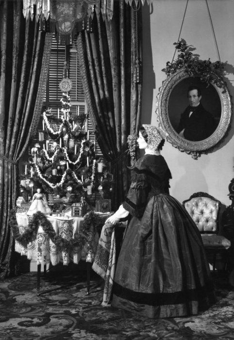 christmas in the 1860s