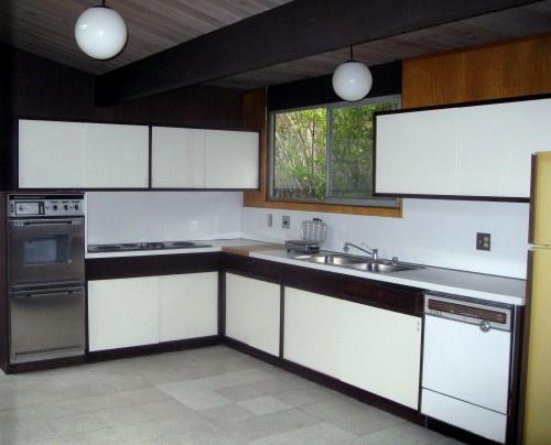 original Eichler kitchen