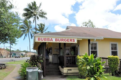 Bubba Burgers in Hanalei. Seriously my favorite food place we went the whole time in Hawaii!