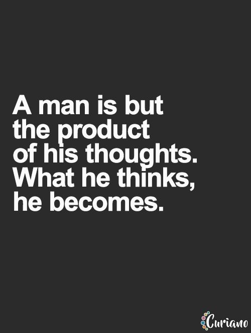 Keep the good thoughts coming. Think of what you want, not what you don't want