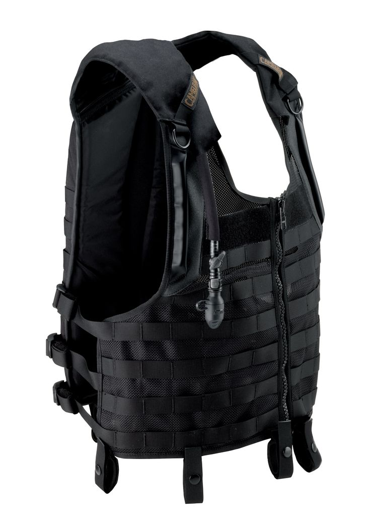60436 TacticalVest Front Camelbak Delta 5 Tactical Vest and ST 5 Tactical Pack: Latest Tactical Hydration