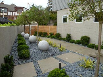 Idea for a side garden