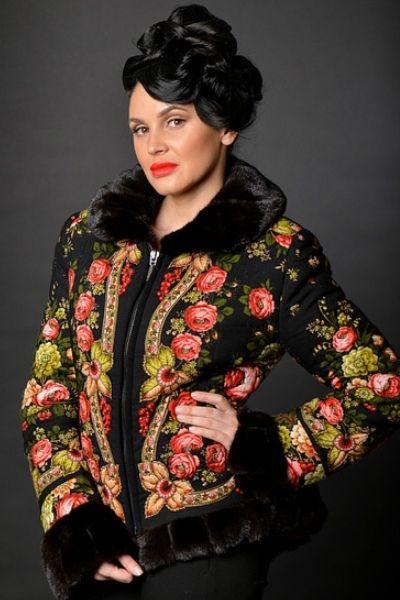 Павлопосадские платки: модно и тепло