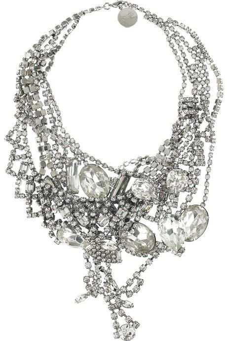 Dripping.: Statement Necklaces, Style, Diamonds, Costumes Jewelry, Bridal Jewelry, Jewels, Accessories, Toms Binns, Bling Bling