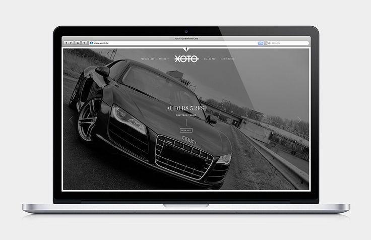 Xoto - Responsive webdesign | by Skinn Branding Agency