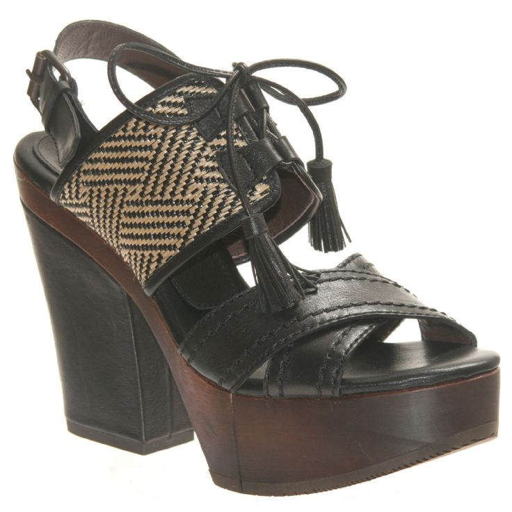 Primrose Market- Bacio 61 Soffio Retro Wooden Sandal