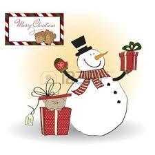 Resultado de imagen para tarjeta virtual de muñeco de nieve