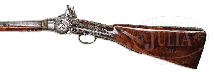 FINE AND VERY RARE EARLY ITALIAN FLINTLOCK REPEATING GUN FROM THE WORKSHOP OF…