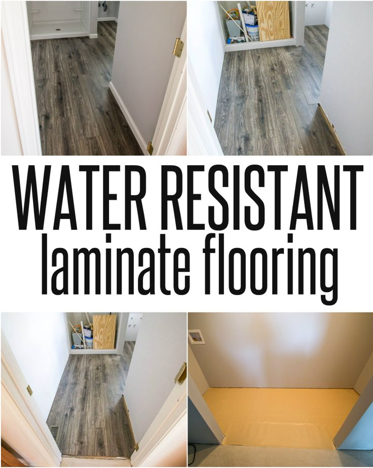 Bathroom And Laundry Room Ideas ~ Choosing Water Resistant Laminate Flooring