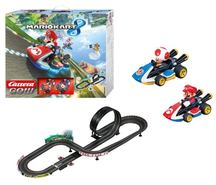 Carrera Go Nintendo Mario Kart 8 Slot Car Racing Race Set