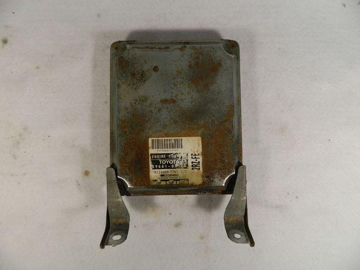 95 96 97 Toyota Tacoma 89661 04150 Ecu Ecm M T 2 4l Engine Computer Module Toyota Toyota Tacoma Ecu Toyota