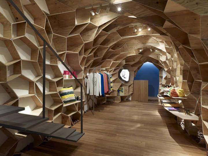 Lucien Pellat Finet Shinsaibashi by Kengo Kuma, Osaka store design                                                  youtube downloader