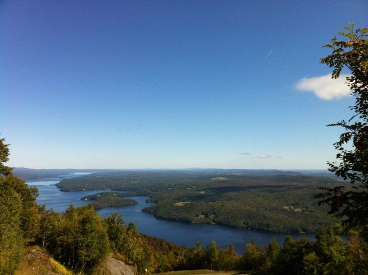Fall festival at stunning Owl's Head, Quebec