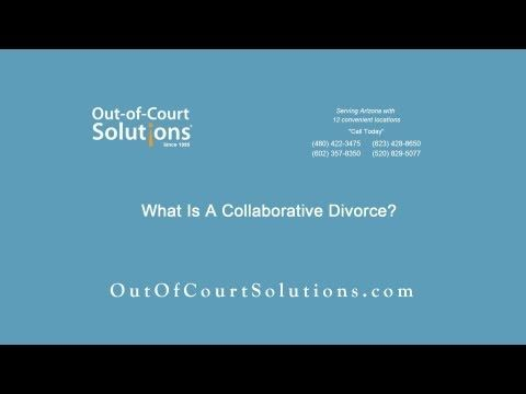 What Is A Collaborative Divorce?  Out-of-Court Solutions 8350 E. Raintree Drive, Suite A-205 Scottsdale, Arizona 85260 Office: 480-422-3475 Fax: 866-929-1985 Email: admin@outofcourtsolutions.com Website: http://outofcourtsolutions.com/collaborative_divorce  Serving Arizona With 12 Convenient Locations! ‪#‎divorce‬ ‪#‎divorcemediation‬ ‪#‎collaborativedivorce‬