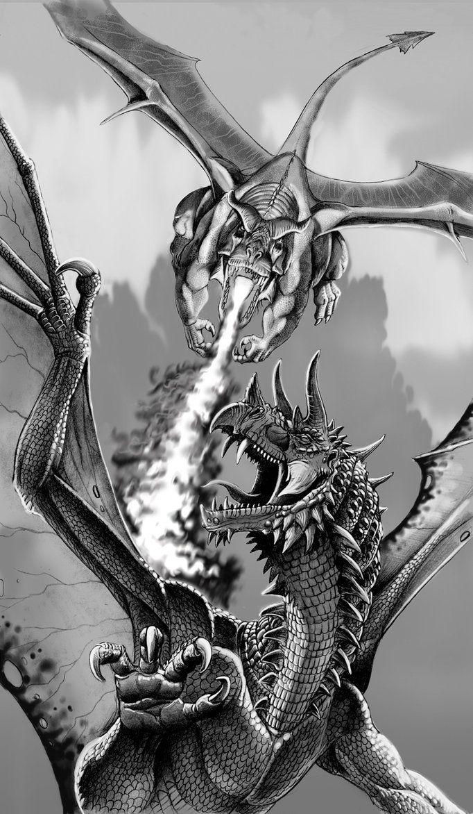 головной дракон близнец картинка могу дома