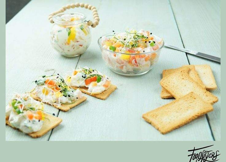 Gezonde sandwich spread