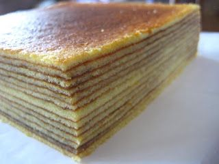 Gourmet Baking: Cheese Thousand Layer Cake (Lapis Legit Keju). This website gives modification tips to make it perfect.