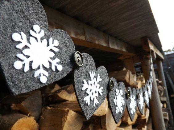 40 idées de décoration de Noel au style scandinave - Visit the website to see all pictures http://www.amenagementdesign.com/decoration/40-idees-de-decoration-de-noel-au-style-scandinave