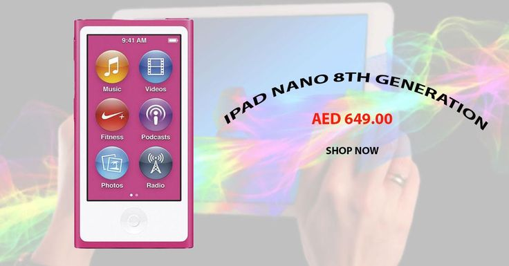 Shop for Apple iPad Nano (8th Generation - Latest Model) - 16GB, Pink. Shop Now Free Shipping in UAE. #ipad #Electronics #Gadgets #apple #menakart