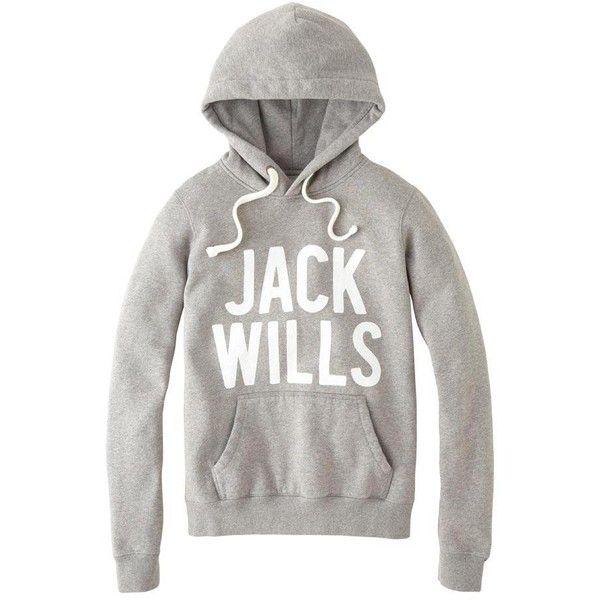 Jack Wills Hillcrest Hoodie ($90) found on Polyvore