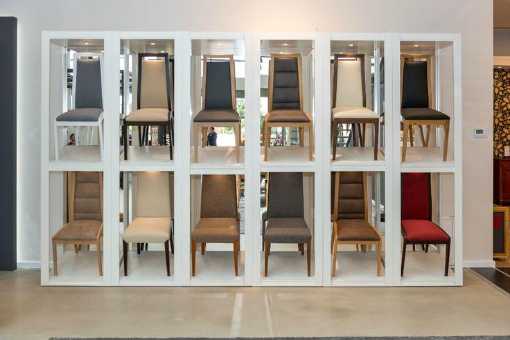 Klose Furniture showroom in Rumia #KloseFurniture #modernchairs #woodenchairs
