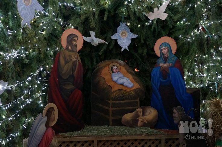 Рождественская ночь в Воронеже / Christmas night in Voronezh