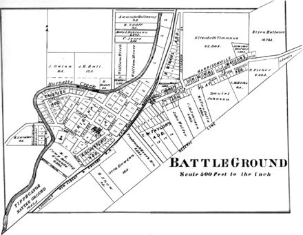 Battle Ground, Indiana - Wikipedia, the free encyclopedia Site of the Battle of Tippecanoe in the War of 1812