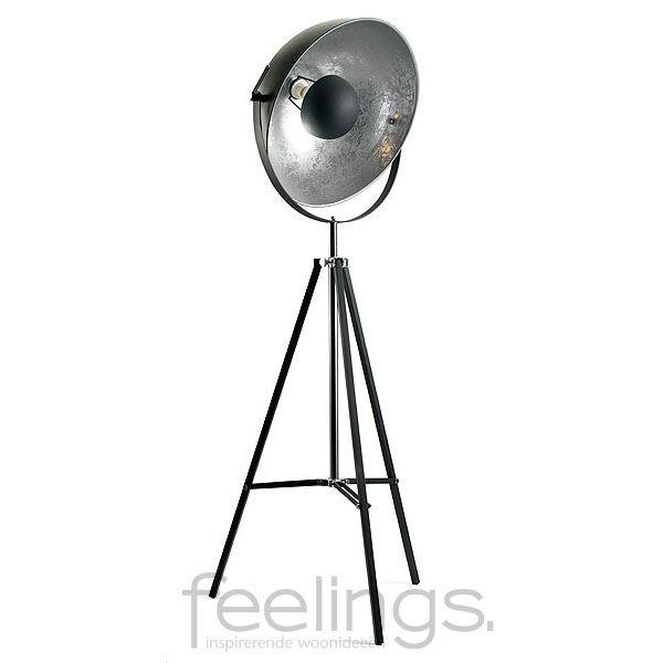 Silver sun vloerlamp - Knibbeler