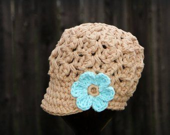 Crochet Baby Hat Kids Hat Crochet Newsboy Hat Hat For Girls