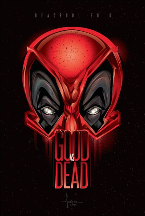 Deadpool - Poster Posse tribute by Orlando Arocena