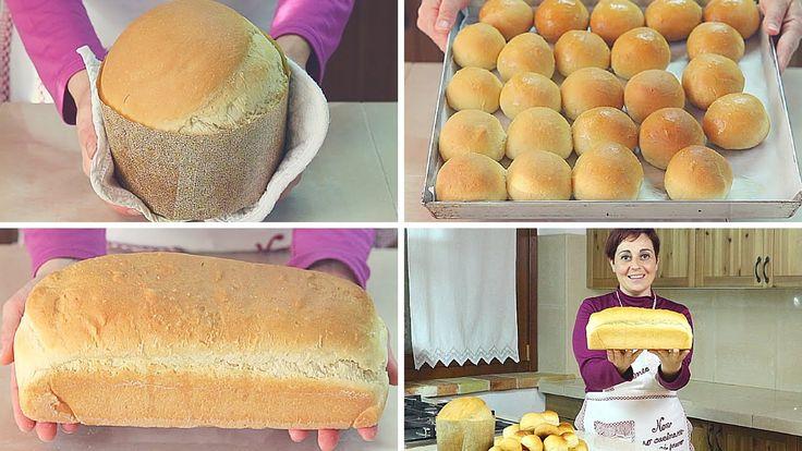 Ricetta 3 in 1, impasto base per realizzare panettone gastronomico, panini al latte, pane in cassetta, da farcire per realizzare gustosi buffet e rinfreschi