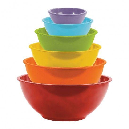 Mixing Bowl Set of 6 Pieces