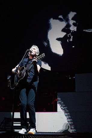 Roger Waters. Saw this concert it was FAB.