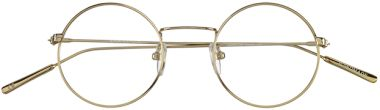 Brille runde Gläser Baio Gold, goldene Brille in rund. Als Mustersendung versandkostenfrei bestellen. Finde noch weitere runde Brillen im Lunettes Shop