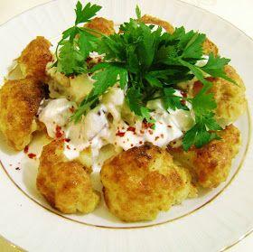 Tarifi keyf-i mutfak Elif arkadaşımızdan.  Malzemeler : 1 adet orta boy karnıbahar 2-3 adet yumurta 2-2 yemek kaşığı silme galeta unu 1/2 ç...