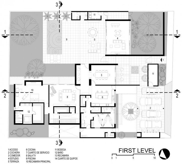 Hauspläne grundrisse  277 besten Grundrisse Bilder auf Pinterest | Grundrisse, Haus ...