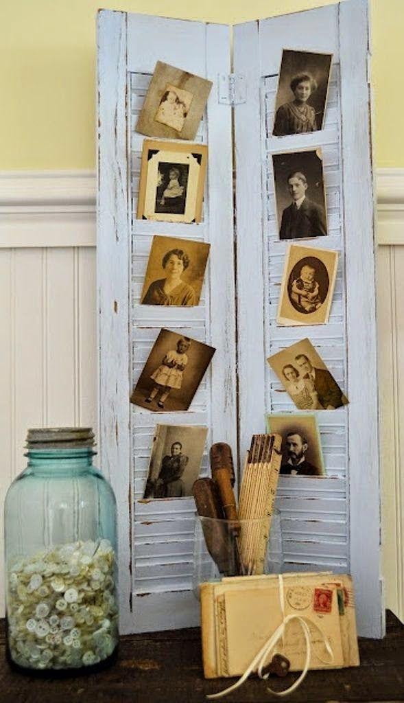 Διακοσμήσεις-Κατασκευές με παλιά παντζούρια