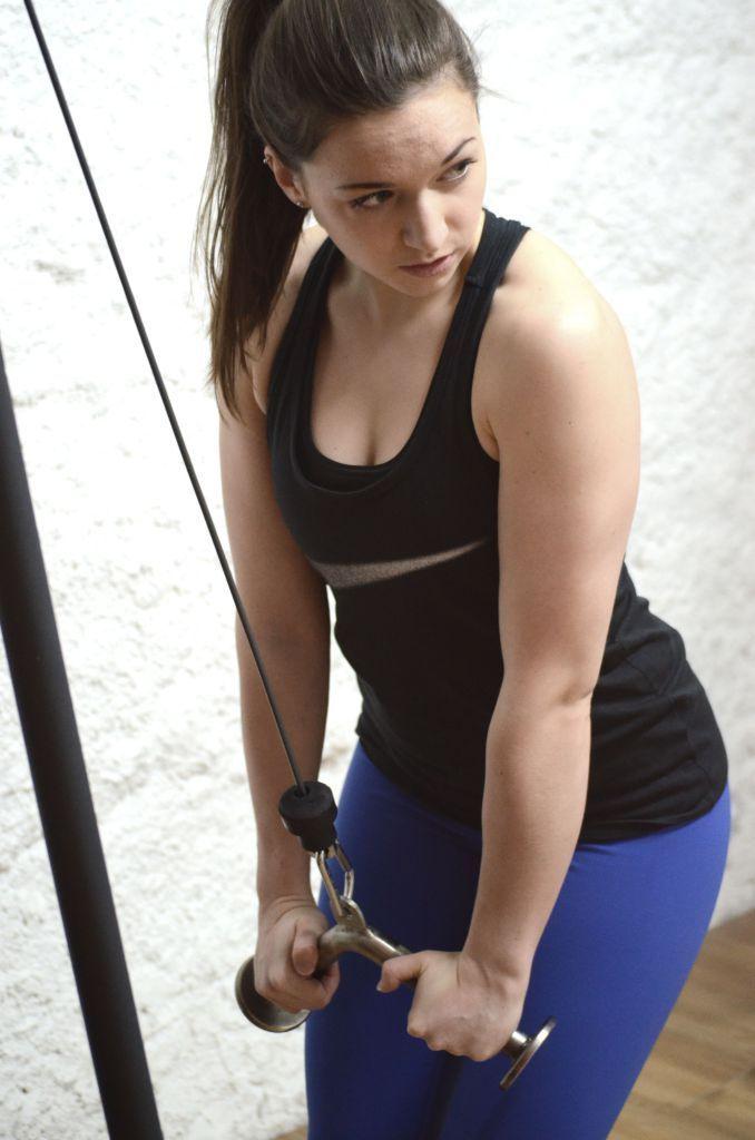 Im Fitnessstudio ist ficken Sport