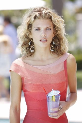 "AnnaLynne McCord as Naomi Clark in a scene from ""90210"". (Season 2 - episode title: ""To New Beginnings"") #herveleger"