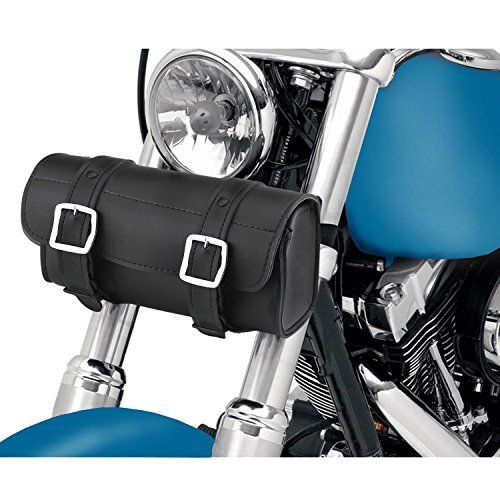 Armor Plain Motorcycle Tool Bag  The Armor motorcycle tool bag from Viking Bags is a different take on traditional motorcycle tool bags. Made from genuine cowhide leather, the Armor is a motorcycle tool bag that will show you the difference between a good tool bag and the rest. Medium sized, the armor motorcycle tool bag has dimensions of 10.25″x 5″ x 4.5″ giving you over 230 cubic inches of storage. Of course, the weight is kept to a minimum while still giving you the best protectio..