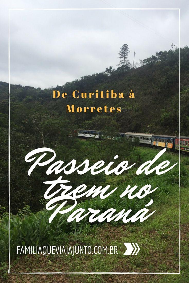 O passeio de trem entre Curitiba e Morretes foi a nossa primeira escolha na mais recente viagem à capital paranaense. Confira tudo clicando no link.