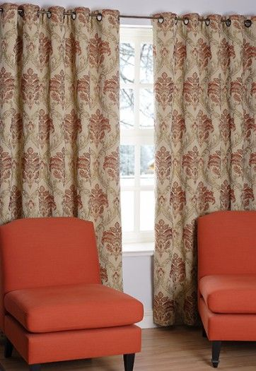 HERITAGE TERRACOTTA CURTAINS