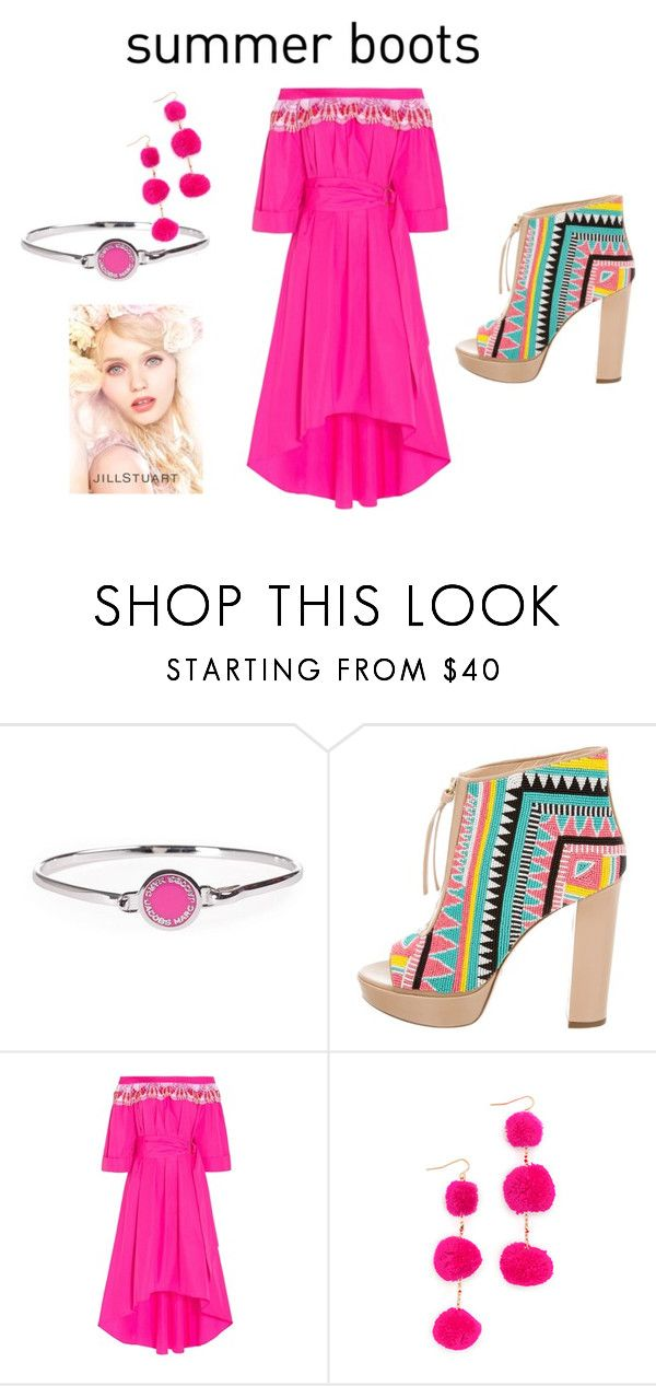"""""""Summer Booties"""" by gracierose70 ❤ liked on Polyvore featuring Marc Jacobs, Jerome C. Rousseau, Peter Pilotto, Vanessa Mooney, Jill Stuart and summerbooties"""