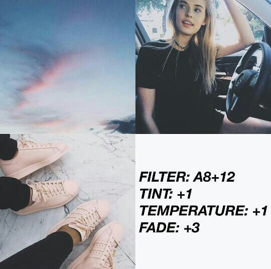 VSCO Cam Filter Settings for Instagram Photos | Faded Blue-ish Filter A8