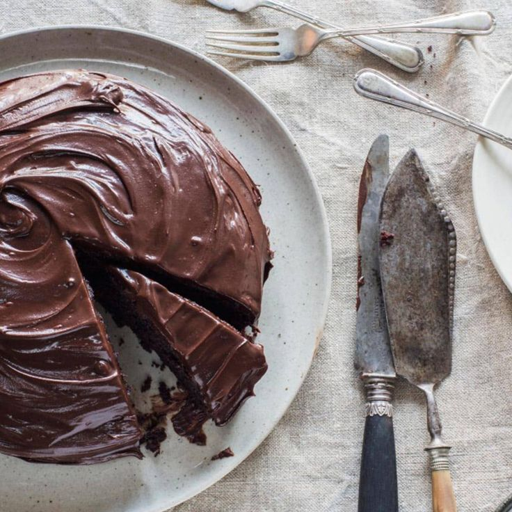 Crazy Italian Chocolate Cake (egg-free chocolate cake) by Chelsea Winter