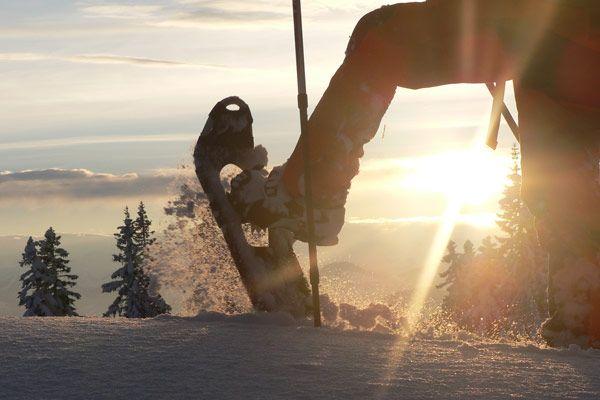Schneeschuhwandern in Waidring