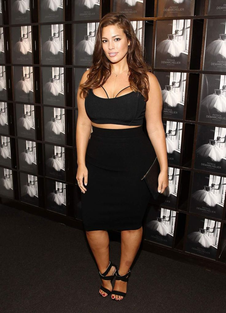 Ashley Graham's first stop is New York Fashion Week