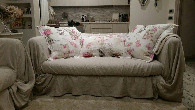 Cuscini di lino