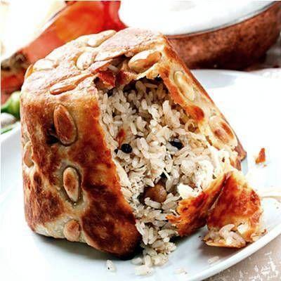 Perde Pilavi (Siirt specialty)